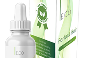 Капли для волос Eco Perfect Hair