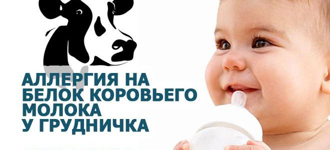 Аллергия на белок коровьего молока у детей