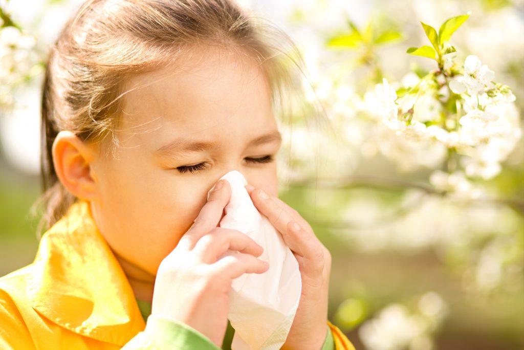 Аллергии у детей