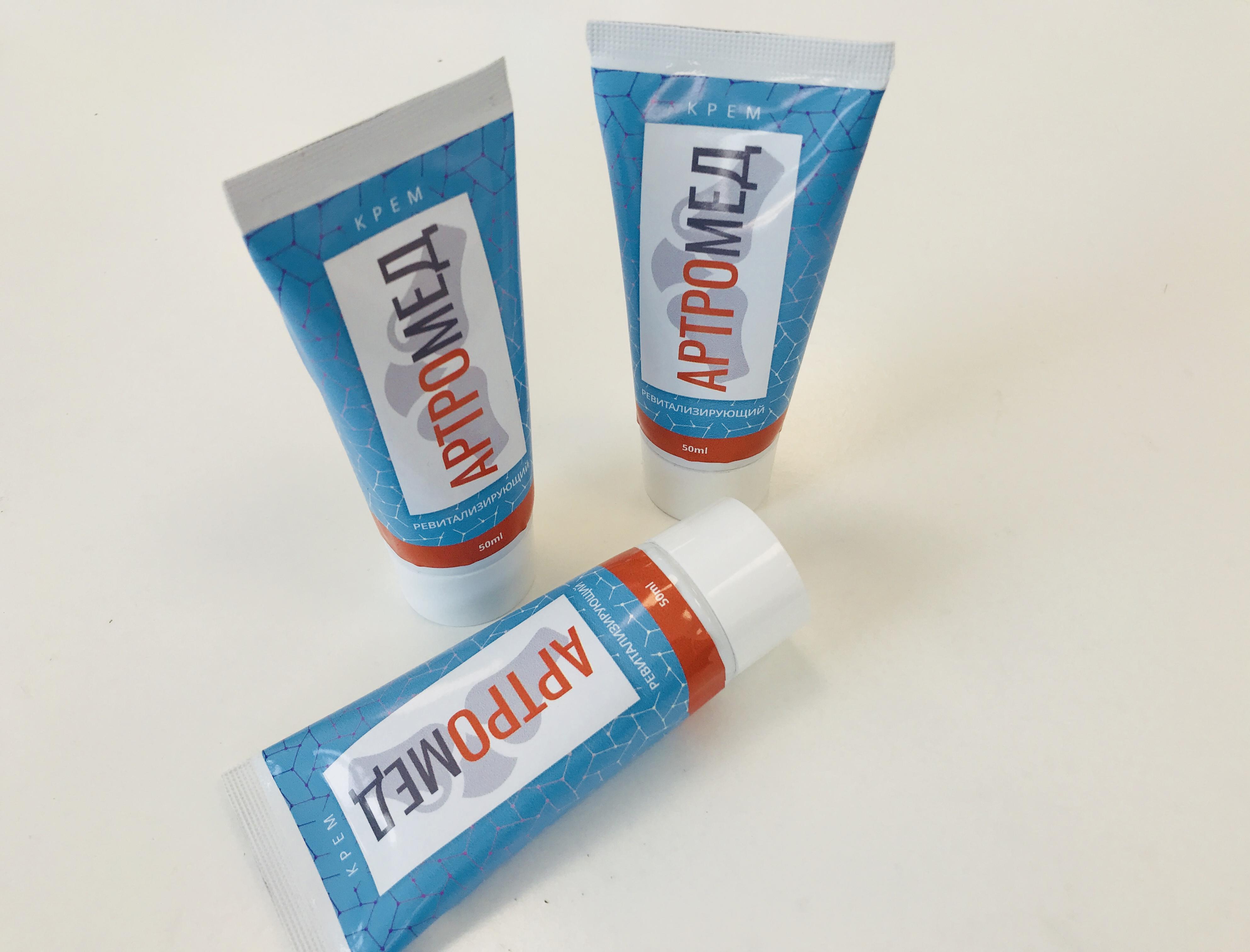 Упаковка крема Артромед