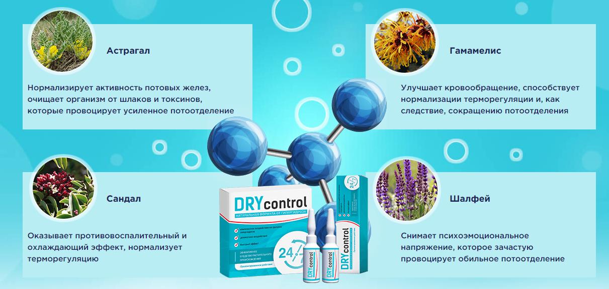 Состав Dry Control