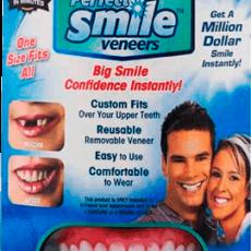 Съемные виниры Perfect Smile Veneers