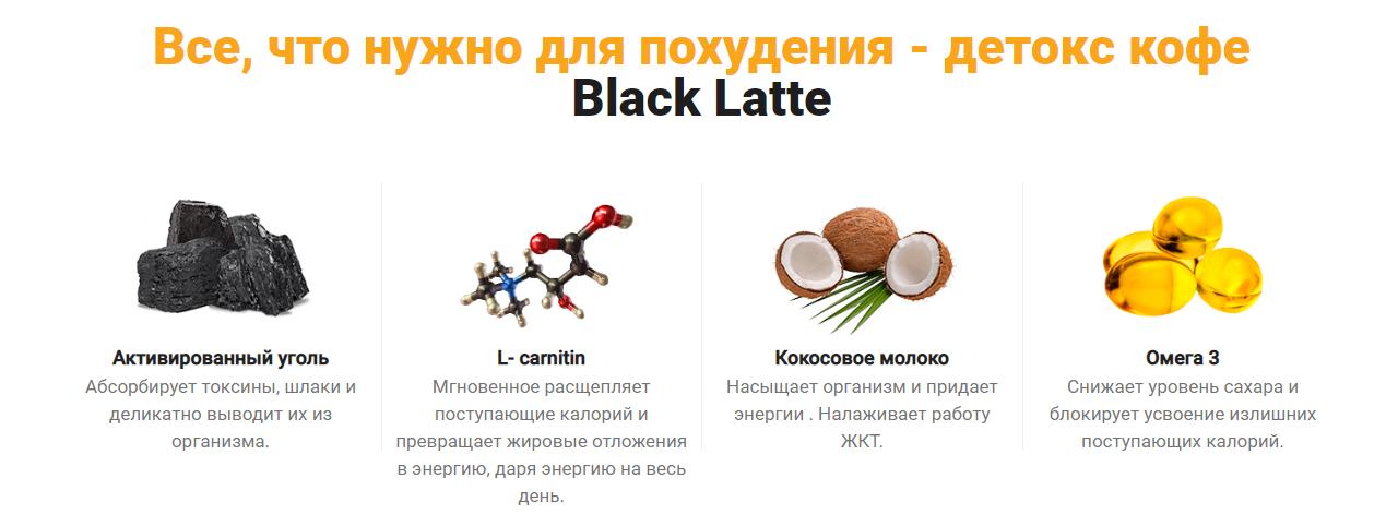 Состав Black Latte