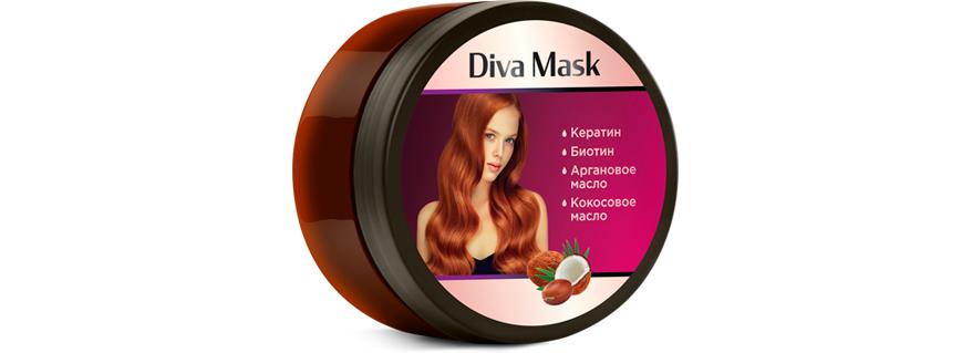 Diva Mask для роста волос