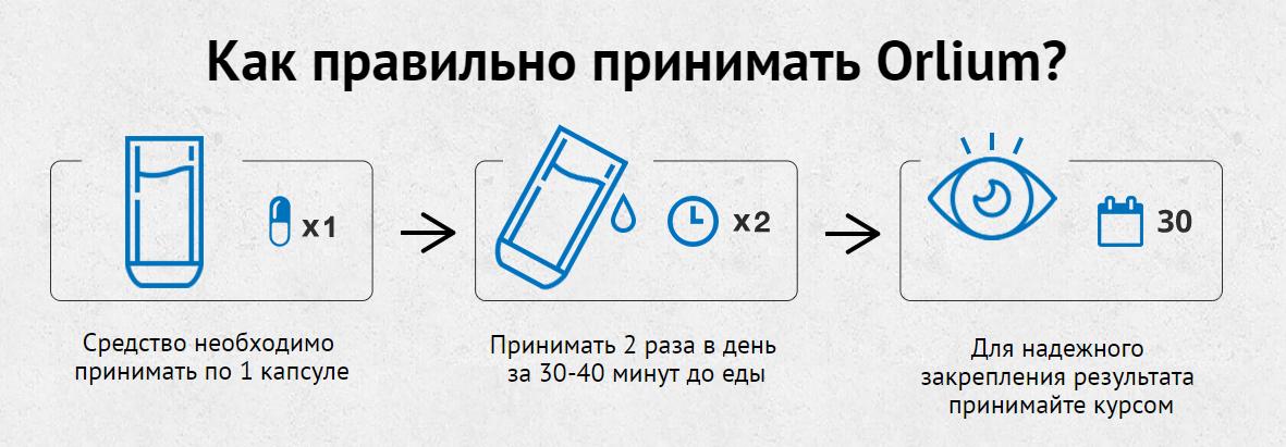Orlium инструкция