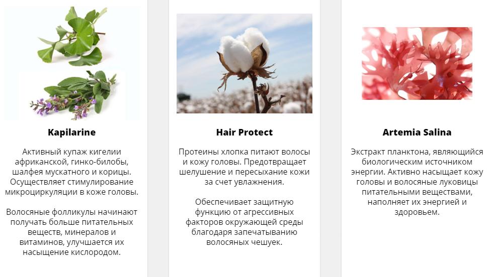 Состав геля Травопар